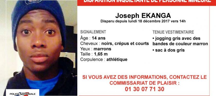 Yvelines : appel à témoins après la disparition de Joseph