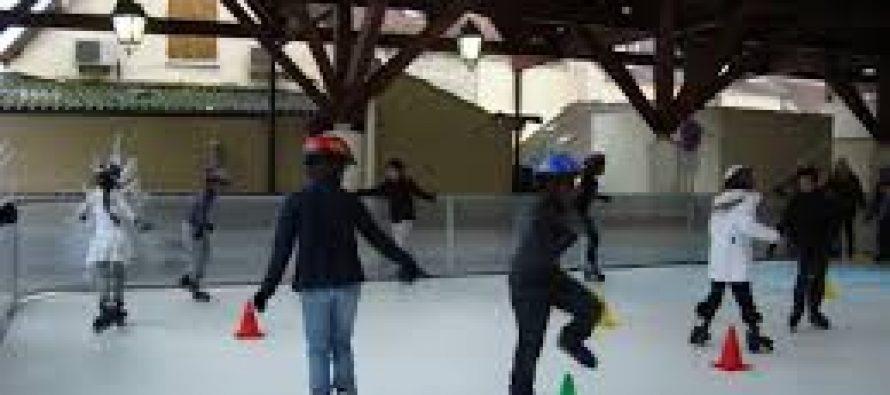 Limay : patinez gratuitement sous la halle du marché du 22 au 28 décembre