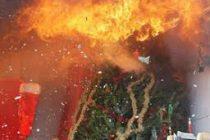 Magnanville : incendie dans un appartement à cause d'une guirlande de Noël