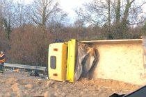 Accident A13 :  bouchons entre Poissy et Les Mureaux