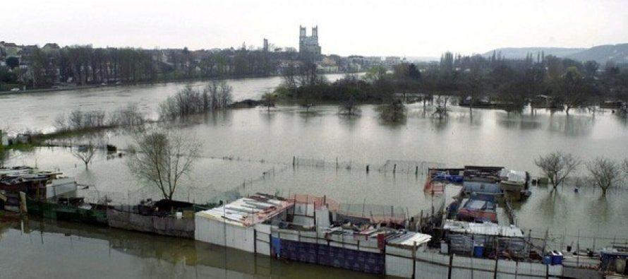Mantes-la-Jolie: la Seine pourrait atteindre 6,80 mètres mercredi 31 janvier