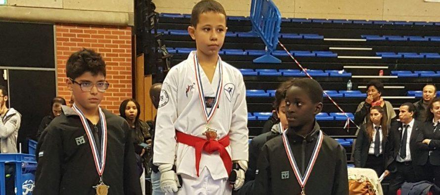 Taekwondo Val de Seine : 4 podiums aux championnats d'Ile-de-France