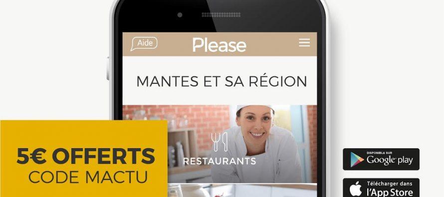 Please : l'Appli pour se faire livrer vos restaurants et commerces du Mantois