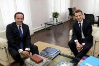 Métropole du Grand Paris : Pierre Bédier (LR) a rencontré Emmanuel Macron
