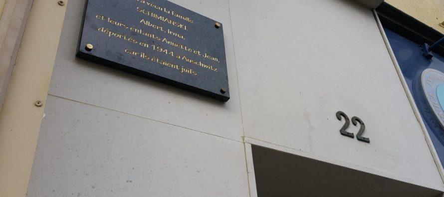 Mantes-la-Jolie : hommage à la famille juive déportée en 1944