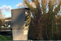 Mantes-la-Ville – D 983 : le radar automatique incendiée