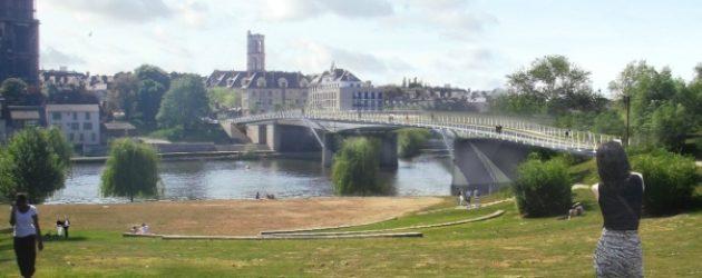 Pont Mantes-Limay : une voie neutralisée en raison du chantier de la passerelle