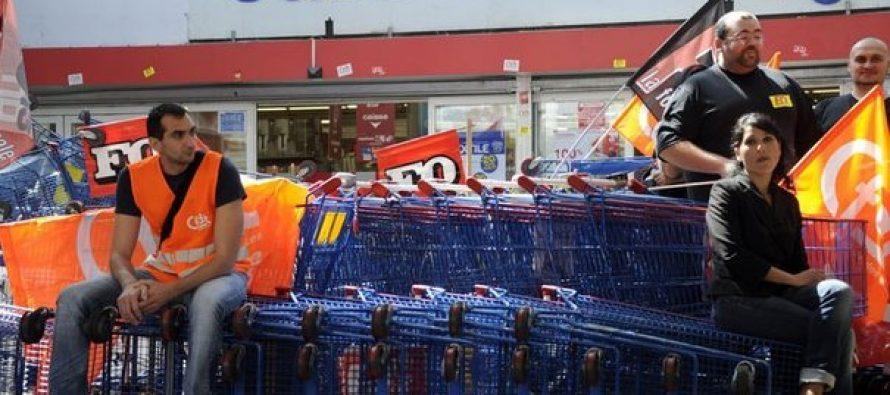 Carrefour Limay et Flins : grève des salariés samedi 31 mars