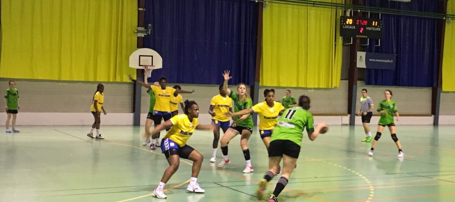 Hand féminin : Les Mureaux-Mantes en demi-finale de la coupe des Yvelines