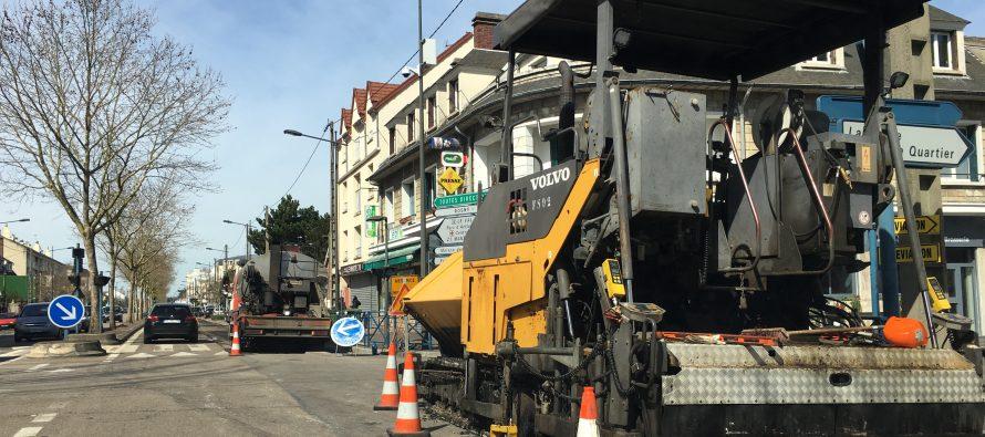 Mantes-la-Jolie : travaux boulevard du Maréchal Juin jusqu'au 14 avril