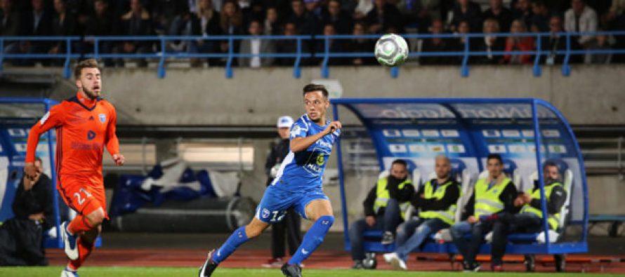 Foot – L2 – 35e J : Leautey buteur avec Niort contre le Gazélec Ajaccio