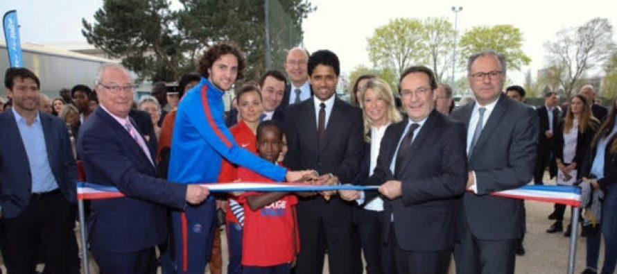 École du PSG à Mantes : Al-Khelaïfi et Rabiot présents à l'inauguration