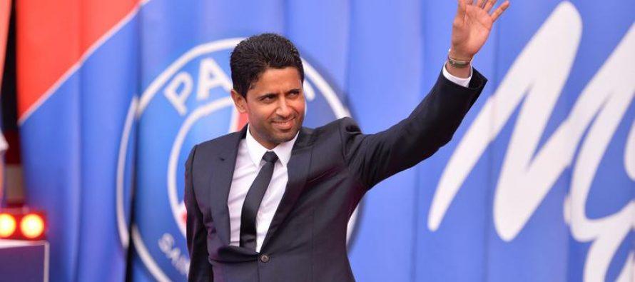 École du PSG à Mantes : Nasser Al-Khelaifi en visite le 12 avril