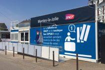 Gare de Mantes : le bâtiment voyageurs remplacé par des bungalows