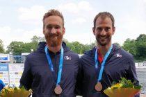 Canoë-Kayak: Le Moel en bronze à Duisburg en Allemagne