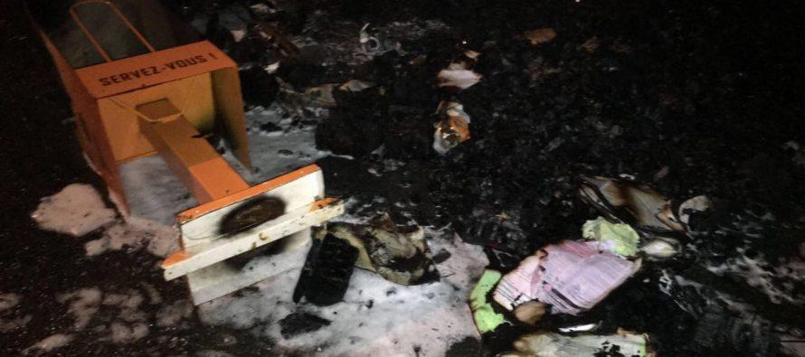 Mantes-la-Jolie : la radio LFM visée par un nouvel incendie criminel