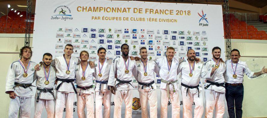 Judo : le Mantais Abderhamane Diao champion de France par équipes avec Sucy