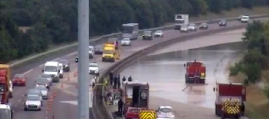 Yvelines – Inondations : réouverture de l'autoroute A13 dans le sens Paris-Rouen