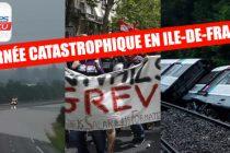 Intempéries, grève SNCF, accident RER : mardi noir en Ile-de-France
