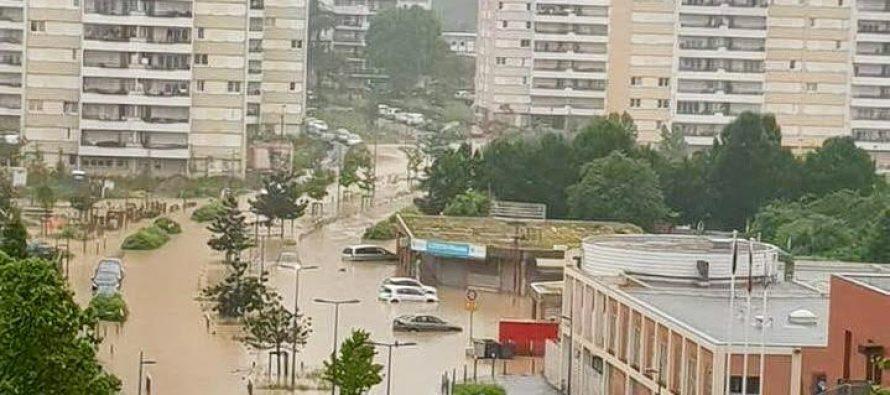 Inondations aux Mureaux : les habitants privés d'eau chaude