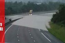 Alerte Info : l'autoroute A13 inondée dans les 2 sens