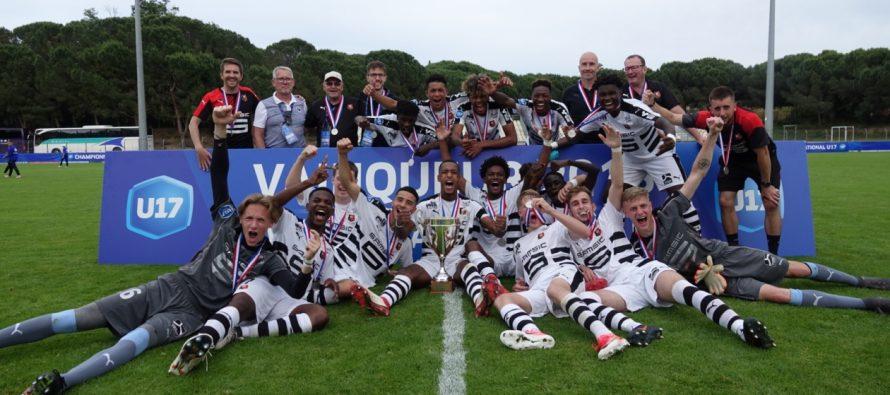 Foot : Elias Damergy champion de France U17 avec Rennes