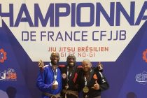Jiu Jitsu Brésilien : Félicien Matoko sacré champion de France en GI