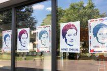 Lycée Saint-Exupéry : le portrait de Simone Veil aux résultats du bac