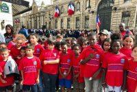 Fondation PSG Mantes-la-Jolie : des jeunes à l'Élysée avec les Champions du Monde