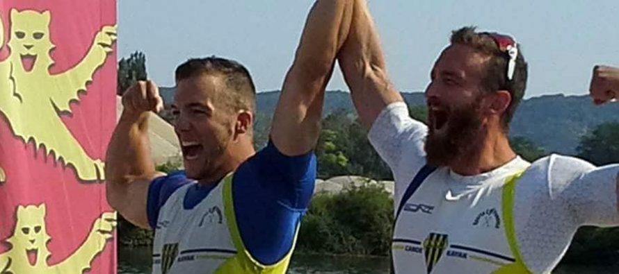 Canoë-Kayak : Le Moel et Boursier en argent aux Championnats de France