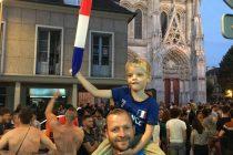 La France en finale : Mantes-la-Jolie a fêté la qualification