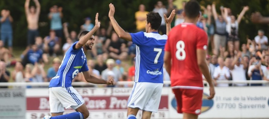 Foot – Amical : Ismael Aaneba encore buteur avec Strasbourg