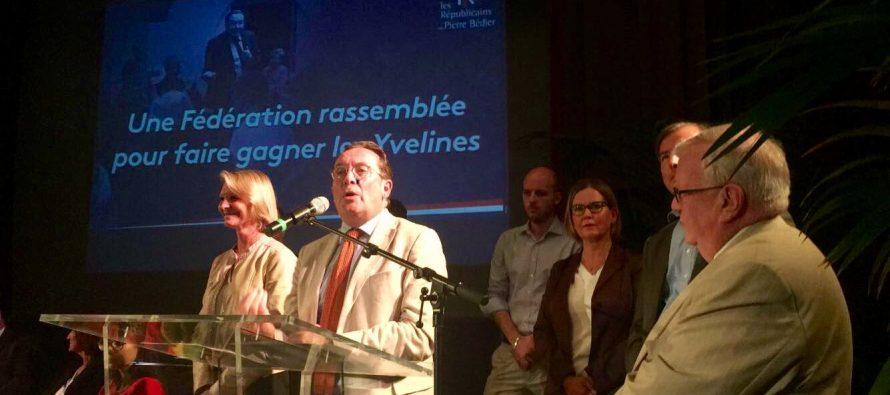 Yvelines – Présidence LR : Bédier lance sa campagne devant 350 militants au Pecq