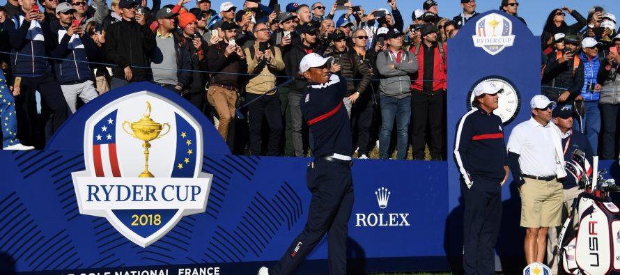 Mantes-la-Jolie : des collégiens de Pasteur ont vu Tiger Woods à la Ryder Cup
