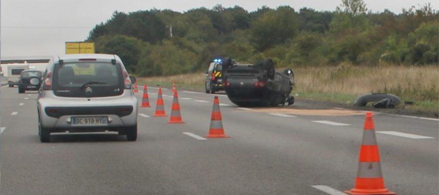 Rosny-sur-Seine : l'accident sur l'A13 fait 5 blessés dont 2 graves