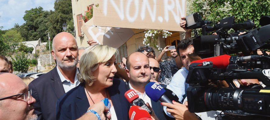 Marine Le Pen à Mantes-la-Ville : des syndicats vont manifester dimanche