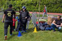Épône : journée sportive et citoyenne entre jeunes, policiers, gendarmes et pompiers