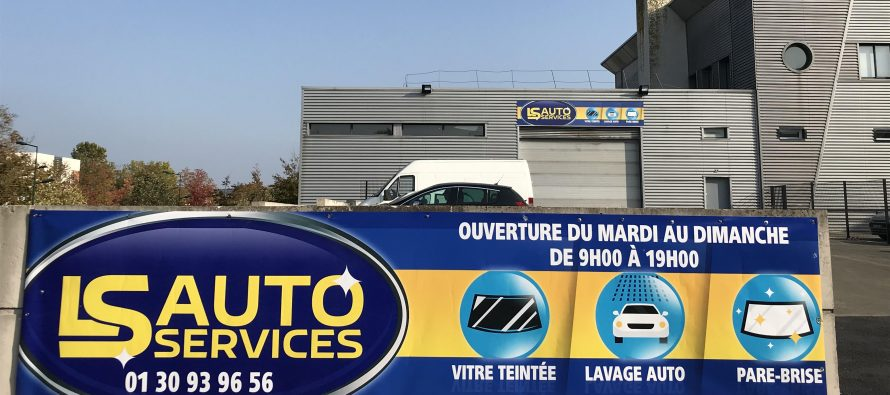 LS Auto Services : réouverture vendredi 23 août avec service pare-brise, vitres teintées et lavage
