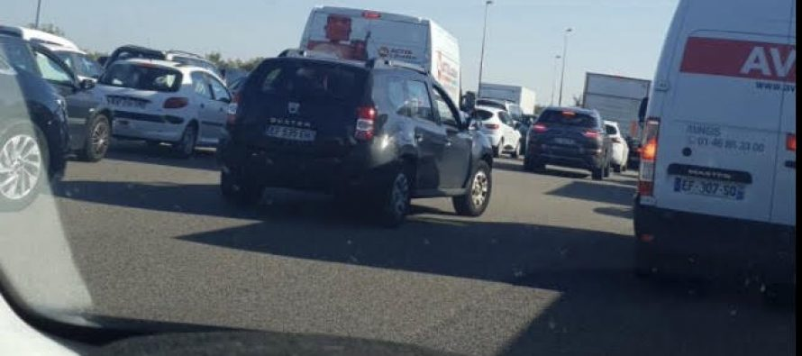 Accident à Guerville : l'autoroute A13 bouchée en direction de Paris