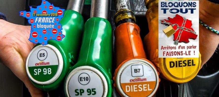 Hausse du prix de l'essence : un blocage des routes prévu le 17 novembre