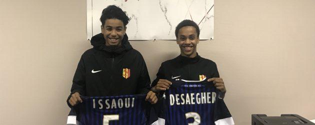 Foot – FC Mantois : Issaoui (2005) et Desaegher (2004) signent à Troyes (Ligue 2)