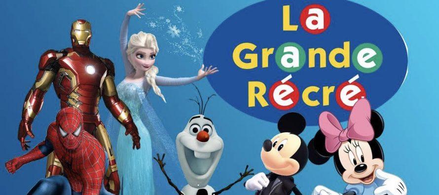 Buchelay : animations gratuites à la Grande Récré le 10 novembre avec la Reine des Neiges, Iron Man, oLaf, Sipderman, Mickey et Minnie