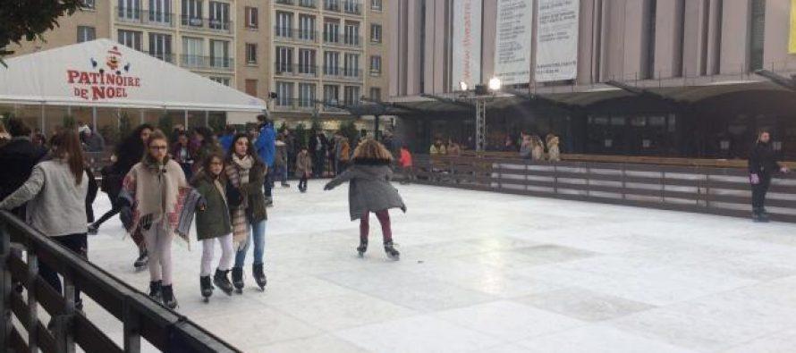 Mantes-la-Jolie : profitez de la patinoire éphémère sur le marché de Noël