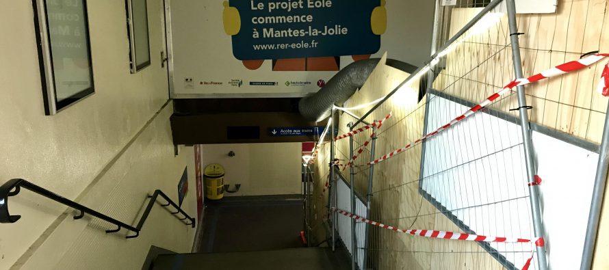 Gare de Mantes : le souterrain partiellement fermé du 17 décembre à la mi-janvier
