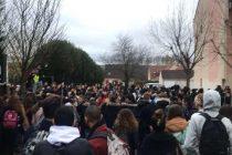 Gilets Jaunes : blocage au lycée Condorcet de Limay