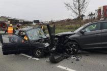 Mantes-la-Jolie : une conductrice grièvement blessée dans un face-à-face