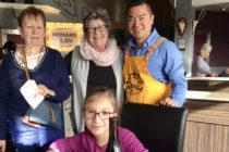 Restos du Cœur à Mantes : 47 bénéficiaires déjeunent gratuitement à La Villa