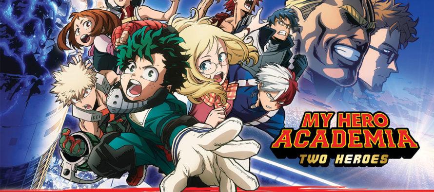 CGR Mantes : My Hero Academia Two Heroes diffusé les 22, 23, 26 et 27 janvier