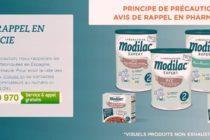 Alerte Santé : détection d'une salmonelle dans les produits Modilac