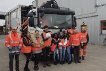 Mantes-la-Jolie : 6 élèves du collège Pasteur en stage chez Veolia